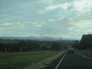 Burning off near Warragul