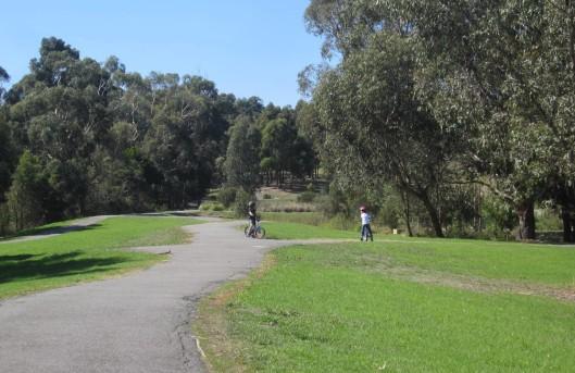 Park bikes