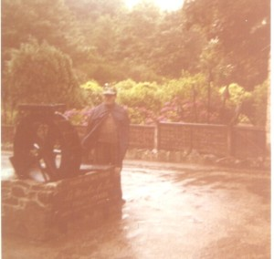 Wet day at the wishing well