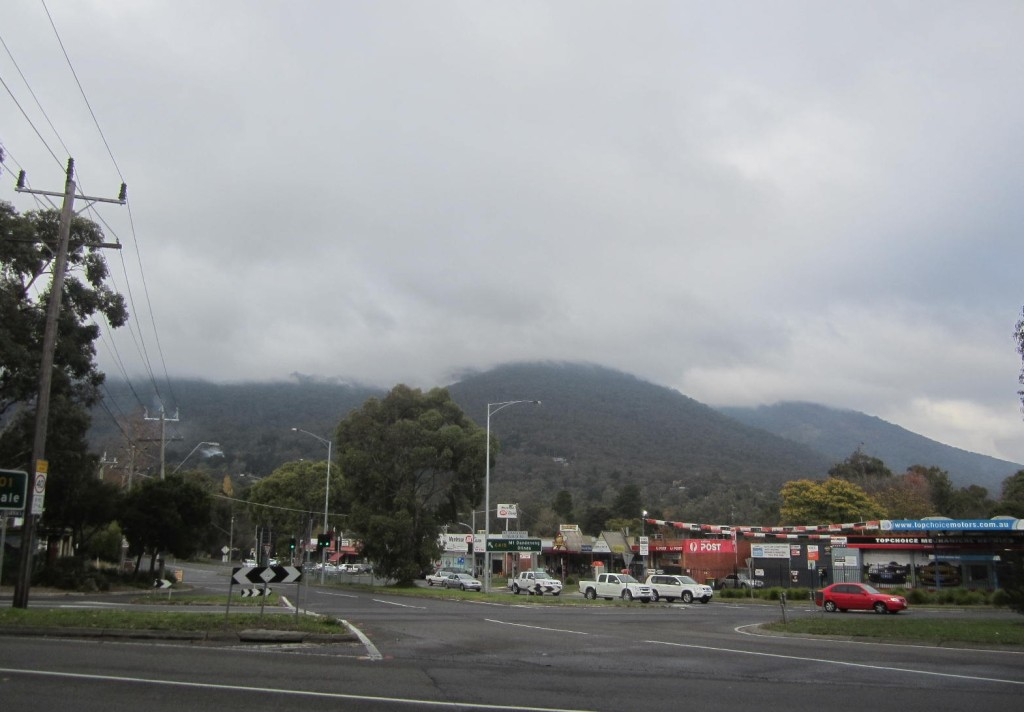 Low cloud on the mountains