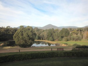 Golf Club walking track and ranges