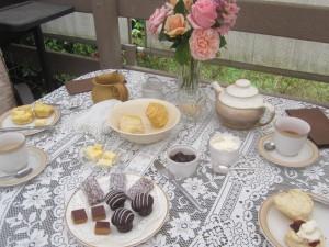 Cream Tea with a friend!