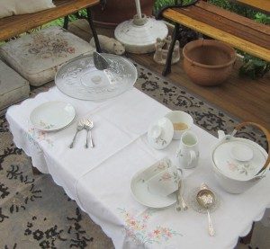 Low table for Low Tea!