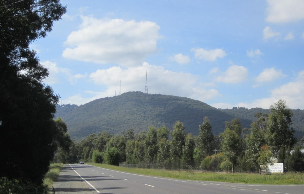 ~ The Dandenongs from Liverpool Road ~ April 2012