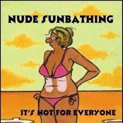 Sunbathers unite
