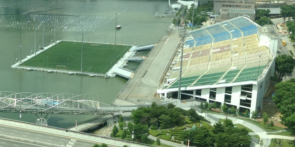 ~ ~ The Worlds Largest Floating Sports Stadium ~ ~ ~