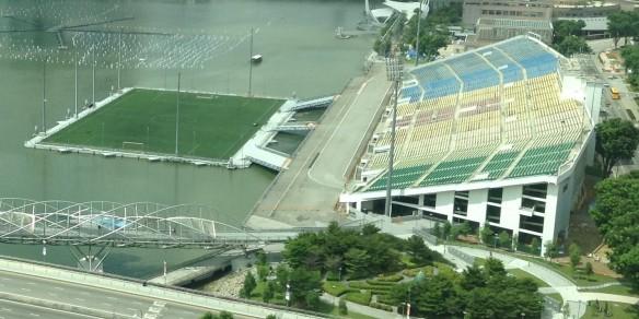 ~ ~ The Worlds Largest Floating Sports Stadium ~ ~ ~