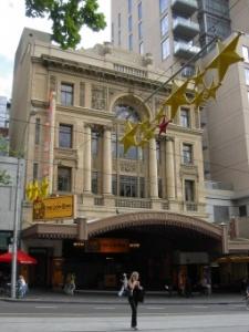 exterior regent theatre melbourne