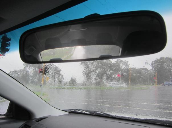 Rain rain go away