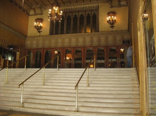 Regent Theatre stairs