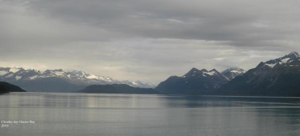 Clouds and Water Glacier Bay