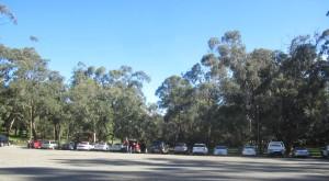 Dam car park