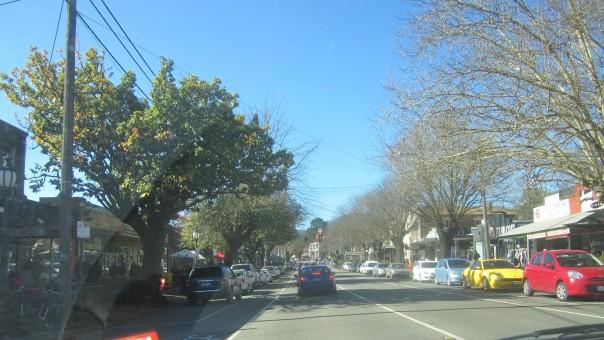 Healesville traffic