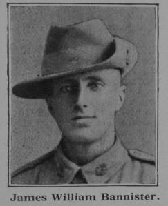 Bannister James William