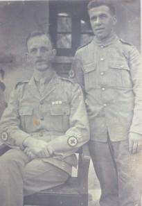 Grandad Thompson and   Gt Uncle Phillip Doyle