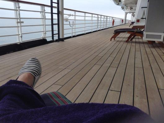 Deck sitting