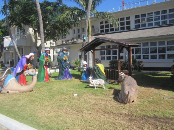 ~ Nativity setting Aruba Dec 2012 ~