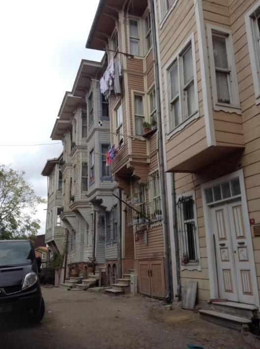 Turkish houses Istanbul