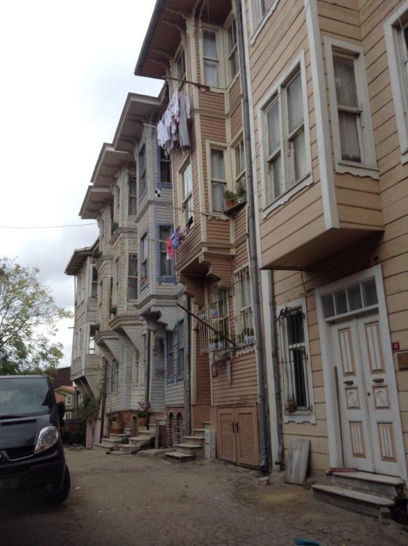 Turkish houses Istanbul