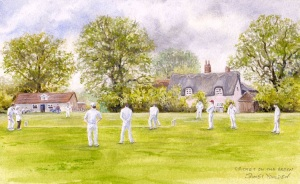 Cricket on the Green by James Youlden