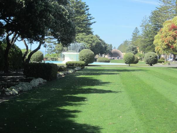Marine Parade Gardens Napier