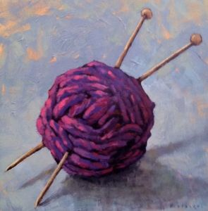 Knitting by Elizabeth  Osborne