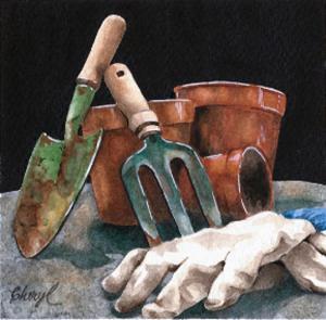 Pot Party by Cheryl Bannisterer