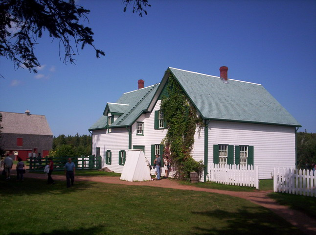 Green Gables, Anne's home in Cavendish PEI