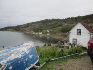 On the shore of Coffee Cove Nfld