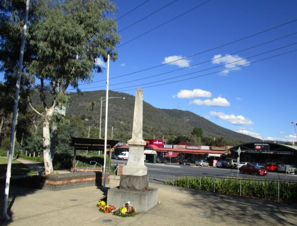 Montrose Dandenongs War Memorial May 2015