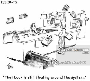 'That book is still floating around the system.'